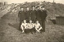 WWII German RP- Soldier- Semi Nude- Gay Interest- Navy Sailor- Shirtless- Bunker