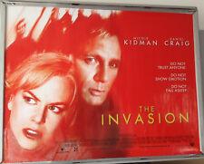 Cinema Poster: INVASION, THE 2007 (Quad) Daniel Craig Nicole Kidman