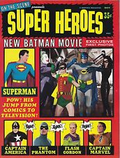 On the Scene Presents Superheroes n° 1 – Scarce in great  condition – NM+!Batman