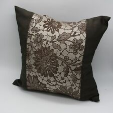 "3pcs 18x18""45x45cm throw pillow cover decorative cushion case brown white beige"