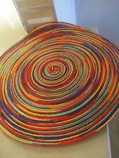 (2) Newâ�Pier 1 Imports Round Mesa Multi-Color Placemats