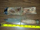 Ontario Airforce Survival Knife 5 Carbon Steel Blade vintage
