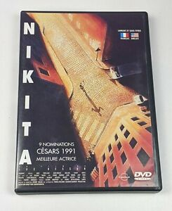 Nikita - Genuine Region 2 DVD Foreign French Film Luc Besson
