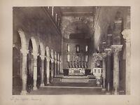 San Giovanni Battista Ravenna Italia Vintage Albumina Ca 1870