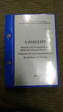 NVA  VORSCHRIFT A 050/1/459 KONTROLL UND WARTUNGSSTATION KRAS AUF ZIL 131