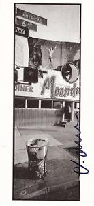 Horst HAMANN (1958) Fotograf orig. sign.Art Card  NEW YORK CITY 11x23cmAUTOGRAPH