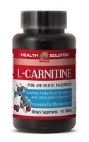 Extra Strength L-Carnitine 500 mg Fat Burn HIGH POTENCY Made in USA 1 Bottle