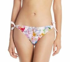 NEW $65 Ted Baker London HANGING GARDENS Side Tie Bikini Bottoms SZ 3 UK