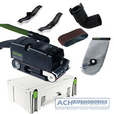 FESTOOL Bandschleifer BS 105 E Plus 570209 im Systainer SYS Maxi 620x105mm BS105