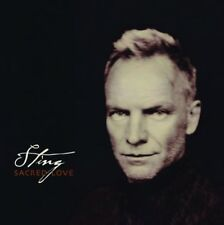STING: SACRED LOVE. ONE OF HIS VERY BEST. TERRIFIC. MINT. MAKES A PERFECT GIFT.
