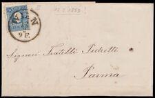 AUSTRIA / OSTERREICH 12/2/1859 - 15 k. n. 16 x PARMA (DUCATO)