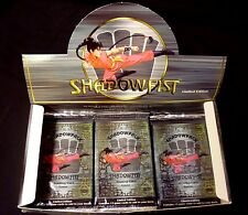Shadowfist Daedalus Limited Edition 6 Booster Packs Lot New Factory Sealed