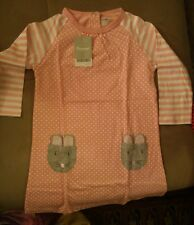 fiream 3-4Y girls pink and white dress with pants.