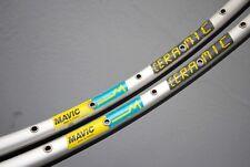 "MAVIC OPEN 4 CERAMIC Silver Clincher Rims / 28"" 700C / 32 holes / Drahtreifen"