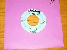 """INSTRUMENTAL 45 RPM - THE BUSTERS - ARLEN 735 - """"BUST OUT"""" + """"ASTRONAUT'S"""""""
