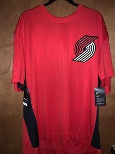 Nike Portland Trailblazers Jersey material shirt AV1036-657 XXL