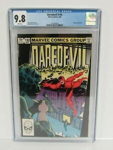 Daredevil #192 (1983) Marvel Comics Bronze Age Kingpin CGC 9.8 A015