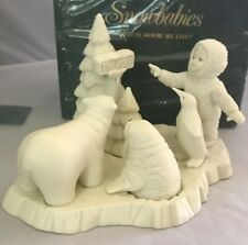 Dept 56 Snowbabies - This Is Where We Live-MINT in Box