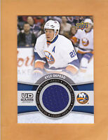2015 16 UPPER DECK UD GAME JERSEY # GJ-KO KYLE OKPOSO NEW YORK ISLANDERS