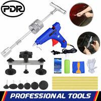 PDR Kit Réparation Carrosserie Débosselage Slide Marteau+Pistolet À Colle Outil