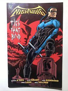 Nightwing: Ties That Bind TPB VF/NM DC1997 1st Printing Batman & Dick Grayson