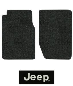1965-1968 Jeep J-3700 Floor Mats - 2pc - Loop