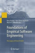 Foundations of Empirical Software Engineering: The Legacy of Victor R.-ExLibrary