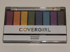 Covergirl Trunaked Dazed Eyeshadow Palette 8 Eye Shadow Full Size Cover Girl