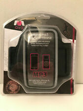 AVA RY728 Phone Case Armband Carry Strap iPhone 4/5 iPod MP3 Smartphone Black