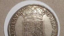 More details for 1690 half-crown.tertio.  rare. very nice specimen. william & mary. british.1689
