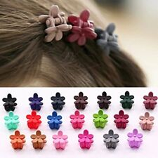 10Pcs Lots Baby Girls Kids Sweet Flower Mini Hair Claws Clips Clamps Hairpin New