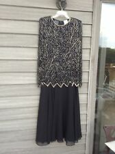 Jean for Joseph Le Bon, new/w tags Beaded/Sequin Dress, formal wedding, Size 10