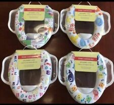 Baby Soft & Steady Potty Training Toilet Seat With Handles Assorted Design