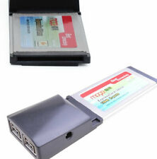 ExpressCard 34mm/54mm TO 2x9Pin Firewire800 1394b DV video Capture Card Ti chip