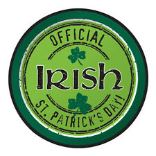 ST PATRICK'S DAY Official Irish SMALL PAPER PLATES (8) ~ Birthday Party Supplies