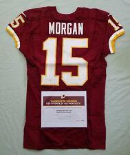 #15 Josh Morgan of Redskins NFL Game Worn & Unwashed Jersey vs. Chiefs WCOA