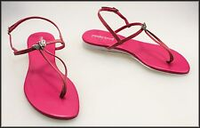 MADE IN BRAZIL WOMEN'S LEATHER FASHION THONGS SANDALS SHOES SIZE 8.5