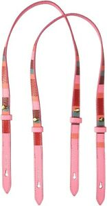 Fossil 170965 Womens Rachel Extra Tote Bag Leather Crossbody Straps Pink Multi