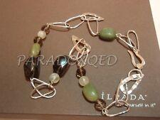 SILPADA RETIRED Sterling Silver 925 Jade Citrine Smoky Quartz Necklace N1218 $90