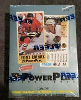 1993-94 Fleer PowerPlay NHL Series 1 Factory Sealed Box Hockey Cards! 36 Packs!
