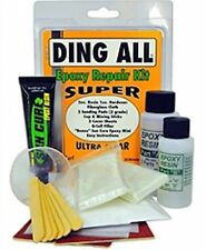 Epoxy Super Surfboard Repair Kit - fiberglass cloth and 2 grade sanding sponge