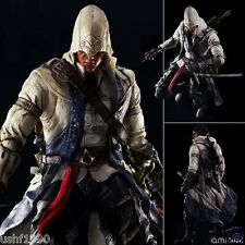 """Assassin's Creed III CONNOR KENWAY Play Arts Kai 10"""" PVC Statue Action Figure CN"""