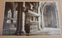 Postcard tomb Of The Black Prince Canterbury Cathedral unposted