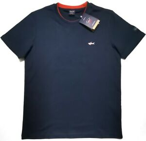 BNWT Paul & Shark Yachting  Mens Navy Blue T-Shirt