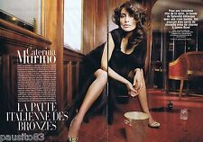 COUPURE DE PRESSE CLIPPING 2006 CATERINA MURINO (4 pages)