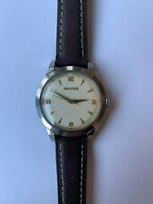 Movado vintage wristwatch hobnail dial stunning circa 1950's