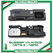 BUZZER VIVAVOCE ALTOPARLANTE PER SAMSUNG NOTE 2 N7100 CASSA AUDIO - NERO
