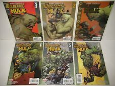 Ultimate Wolverine vs. Hulk 1-6 (2006) Marvel Damon Lindelof Leinel Francis Yu