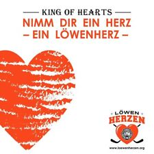 KING OF HEARTS - HIMM DIR EIN HERZ-EIN LÖWENHERZ   CD SINGLE NEUF