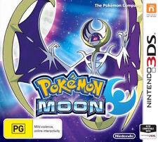 Pokemon Moon Nintendo 3ds 100 Genuine Australia Version
